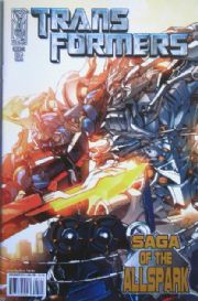Transformers Saga Of The Allspark #1 Cover A (2008) IDW Publishing comic book